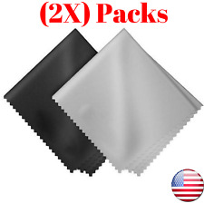 "12""X12"" Microfiber Cleaner Cleaning Soft Cloth for Camera Lens Glasses(2 Pack)"