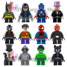 Small Leg Marvel DC Superhero Mini Action Figure Custom Toy Party Bag Fillers