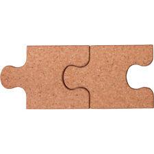 2er Set Topfuntersetzer Topf Untersetzer Korkuntersetzer in Puzzleform aus Kork