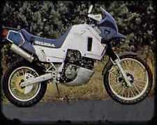 GILERA Xrt600 89 A4 Foto Impresión moto antigua añejada De