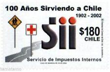 Chile 2002 #2098 100 años Servicio de Impuestos Internos MNH