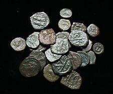 BYZANTINE. Lot of 25 assorted Follis, Half Follis, Decanummium, and more