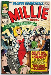 MILLIE THE MODEL COMICS #143 FN+ Marvel Silver Age Romance & Fashion 1966