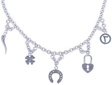 Lucky Charm Glücksbringer Halskette / Halsschmuck Rockabilly