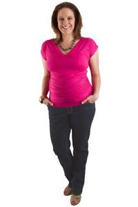 New Womens Pregnancy Plus Size  Maternity Classic Vintage Denim Jeans