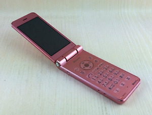Docomo SH-01J Pink Android no SIM 3.4 inches 8GB 8 million pixels used Japan