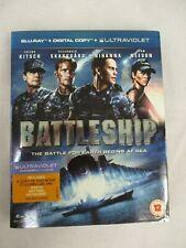 Battleship Blu-ray with Sleeve Taylor Kitsch Liam Neeson Rihanna