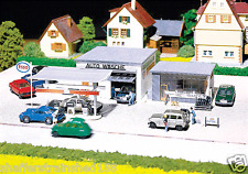 Faller # 130296   Gas Station With Car Wash  HO Scale   MIB