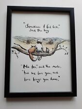CHARLIE MACKESY FRAMED BOOK EXTRACT. ' THE BOY THE MOLE THE FOX AND THE HORSE '.