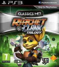 THE RATCHET & CLANK TRILOGY CLASSICS HD PS3 FR OCCASION