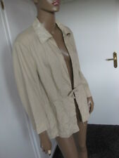 Gerry Weber Exclusive Lino-Giacca 46 Beige 100% LINO