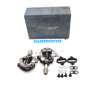 SHIMANO DEORE XT M8100 PD-M8100 XC Off-Road SPD Bike Clipless Pedals + Cleats