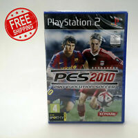 Pro Evolution Soccer PES 2010 | Sony Playstation 2 PS2 PAL | Brand New Sealed