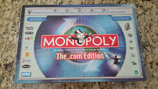 NEW Monopoly - The.Com Edition Game #01 - 2000 Parker Brothers - Factory Sealed