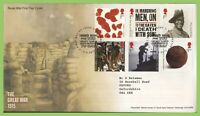 G.B. 2015 The Great War set on Royal Mail First Day Cover, Winchester