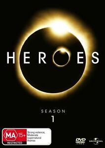 Heroes : Season 1 (DVD, 7-Disc Set) Region 4 Very Good Condition