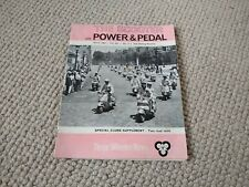The Scooter with the Power and Pedal Magazine March 1964 Lambretta, Vespa Mods