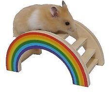 Rainbow Play Bridge Boredom Breaker Small Pets Activity Toy Rosewood 15cm