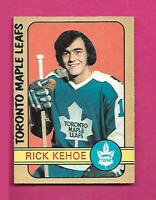1972-73 OPC # 277 LEAFS RICK KEHOE ROOKIE HIGH # EX-MT CARD (INV# D2114)