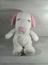 Ty Pink And White Dog Comforter Teddy Plush Toy