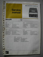 Philips N2607 Service Manual inkl. Service Infos