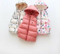 Kids Coat Vest For Spring Autumn Cute Pattern O-Neck Sleeveless Girls Boys Vests