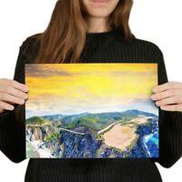 A4 - Bixby Bridge California USA Poster 29.7X21cm280gsm #3106
