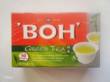 BOH GREEN TEA 100% Pure Natural, Plantations Tea Bag (50 Teabags)