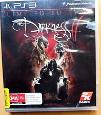 The Darkness 2 Limited Edition - Sony Playstation 3 Game PS3 MA15+
