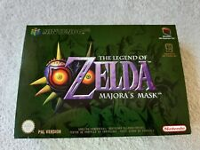 The Legend of Zelda Majora's Mask - N64 Game - UK PAL CIB Collectors Condition