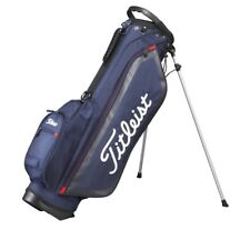 Titleist Japan Golf Caddy Carry Light Weight Stand Bag 7.5inch Cbs76 Navy F/s K