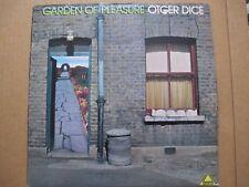 OTGER DICE Garden Of Pleasure LP 1977 BELGIUM PROGRESSIVE ROCK ORIG PRESS