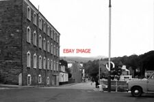 PHOTO  1972 LAXEY ISLE OF MAN THE BUILDING ON THE LEFT WAS AT THAT TIME A PIPE F