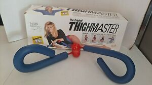 Vintage The Original Thigh-Master Exerciser with Box 1991 Suzanne Somers Open