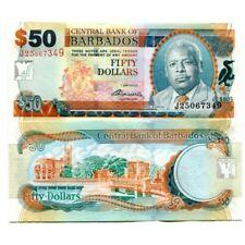 BARBADOS 50 DOLLARS P-70b 2007(2009) UNC