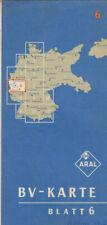 ANTICO ARAL CARTINA GEOGRAFICA BV - Mappa 6 (aral197)