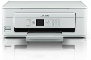 Refurbished Epson XP-345 All-in-One LCD WiFi Printer - White+INKS