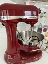 KitchenAid Stand Mixer Professional 550 Plus - Colour Mulberry - Model: KV25MEX