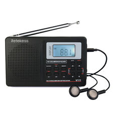 Retekess Radio Portátil Transistor AM / FM / SW DSP Radio de Onda Corta Radio