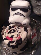 Stormtropper BRAND NEW Disney Star Wars Character Plush Hugger & Throw Blanket