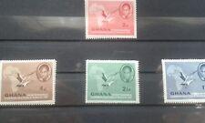 GHANA 1957 Independence Complete Set SG 166 to SG 169 MINT