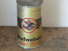 BUDWEISER. LAGER.  DIFFICULT.  VARIATION.  NON O.I.   IRTP. FLAT TOP.  REALLY.