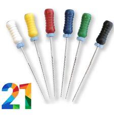21mm Endodontic K Files K File Choose Size Inside Endo Dental Steel Rotary