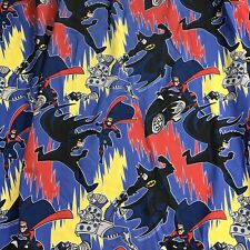Batman Robin Mr Freeze Cartoon Vintage 1996 Twin Fitted Sheet DC Comics
