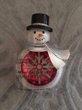 Bath & Body Works Snowman Snowflake Car Truck Visor Clip Scentportable Holder
