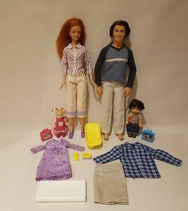 Barbie Vintage Fashion Doll -  Happy Family - Alan Ryan & Nikki + Midge #194