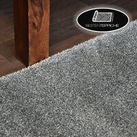 Langlebig Modernen Teppichboden DISCRETION grau dick alle Größen beste Qualität