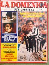 La Domenica del Corriere 10 Marzo 1984 Agnelli Platini Stecca Esorcismo Libano