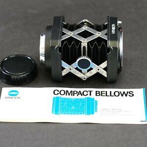 original MINOLTA Compact Bellows - MINT - MINOLTA MD mount  -  Balgengerät