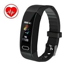 Fitness Tracker Smart Bracelet Wristband Watch Blood Pressure Heart Rate Monitor